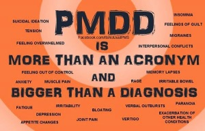 PMDD It's not Just PMS Orange Image_n